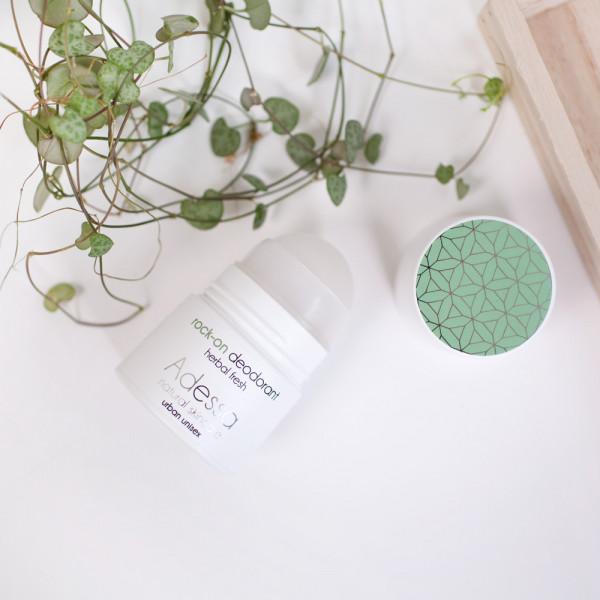 Adessa rock-on deodorant, herbal fresh, 50 ml