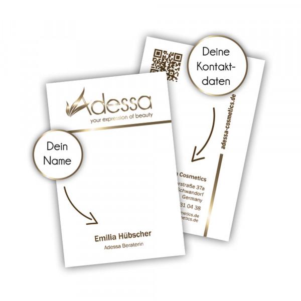 Visitenkarten Adessa Berater Pack/250 Stck.