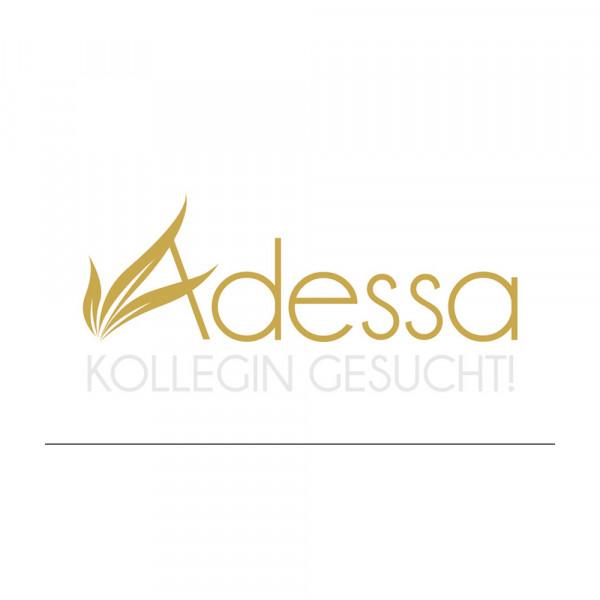"""Adessa Aufkleber """"Kollegin gesucht"""", Gold/Weiß"""