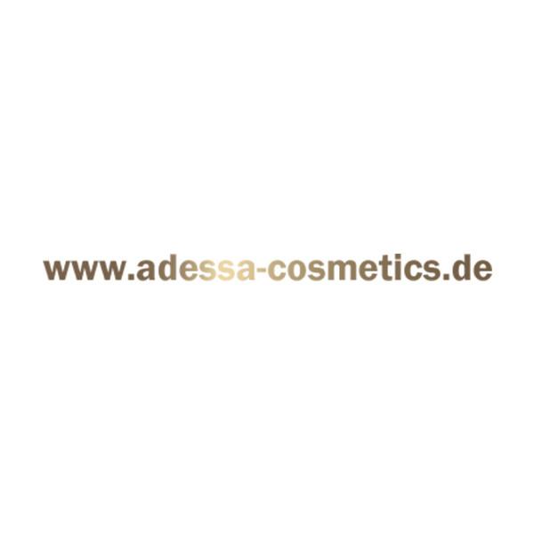 Autoaufkleber Seite, Adessa Web-Adresse, goldglänzend