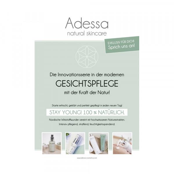 Adessa natural skincare Poster, DIN A1