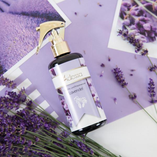 Adessa Gesichts- und Körperwasser Lavendel, Hydrolat, 200 ml