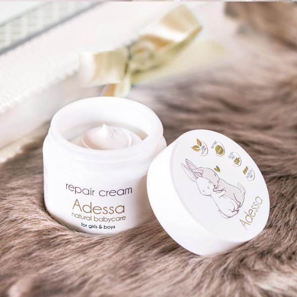Adessa natural baby and kids care for girls & boys, repair cream, 50ml, BIO